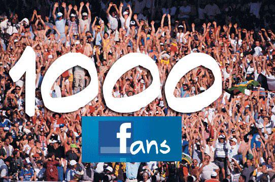1000 Fans Facebook