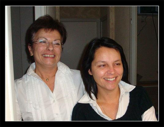 Départ Anne Marie et Corinne