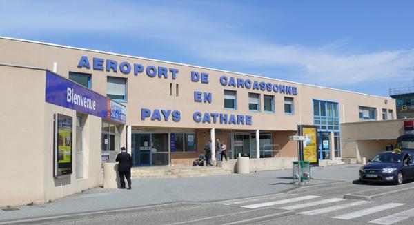 Aéroport Carcassonne Salvaza