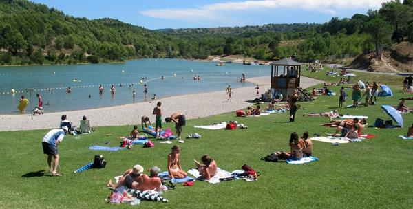 Lac de la Cavayère à Carcassonne