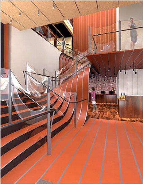 Des escaliers originaux