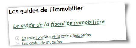 Les guides immobiliers