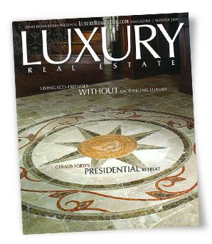 LuxuryRealEstate Magazine Winter 2009 issue