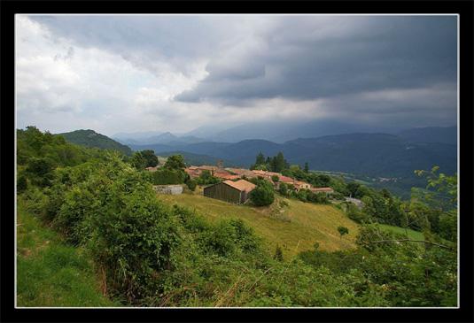 Le village de Roquefixade