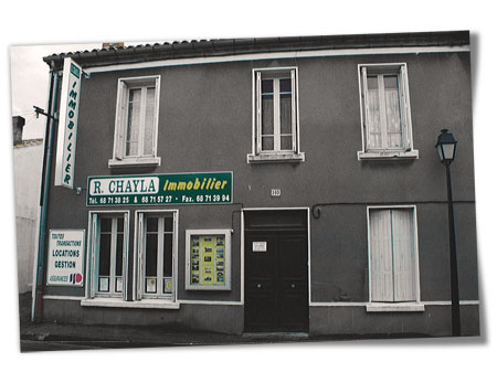 Agence rue Trivalle 1994
